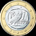150px-1_euro_coin_Gr_serie_1_(1)